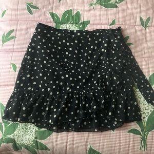 Urban Outfitters Mini Polka Dot Skirt